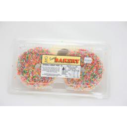 Photo of Sunrise Sprinkle Donut 2pk