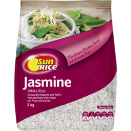 Photo of Sunrice Jasmine White Rice 2kg
