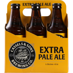 Photo of Cassels & Son Extra Pale Ale 6 x 330ml Bottles