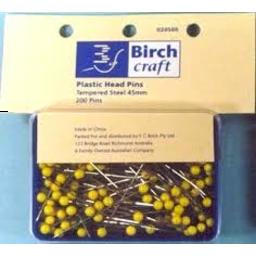 Photo of Birch Pins Plastic Head