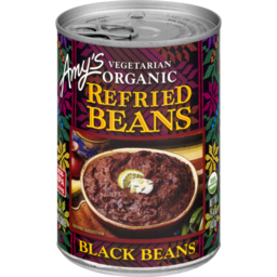Photo of Amy's Kitchen Organic Refried Black Beans 437g