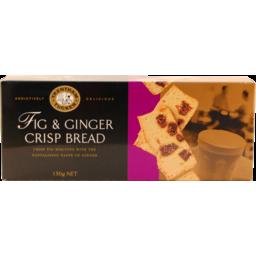 Photo of Trentham Crispbread Fig & Ginger 150g Gift