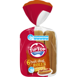 Photo of Tip Top Hotdog Rolls 6pk
