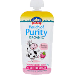 Photo of Jalna Pouch of Purity Strawberry 100gm