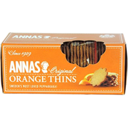 Photo of Anna's Cookies Orange Thins (150g)