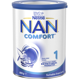 Photo of Nestlé Nan Comfort 1, Suitable From Birth Starter Baby Formula Powder - 800g