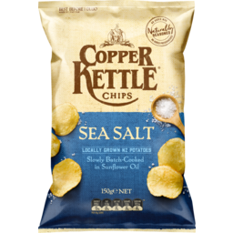 Photo of Copper Kettle Chips Sea Salt 150g