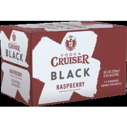 Photo of Vodka Cruiser Black Raspberry Bottles