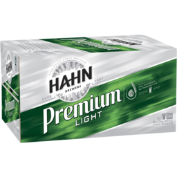 Photo of Hahn Premium Light Bottle 375ml 24 Pack