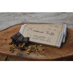 Photo of Monsieur Truffe 70% Dark Pistachio 100g