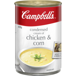 Photo of Campbell's Soup Cream Chicken & Corn 420gm