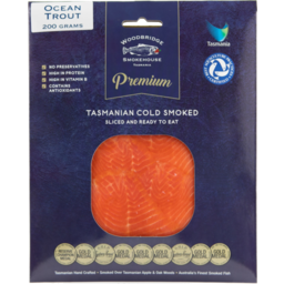 Photo of Woodbridge Ocean Trout Cold Smoked Prt200