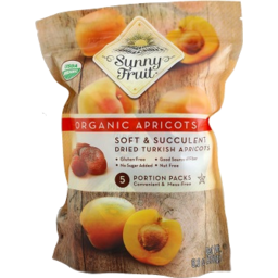 Photo of Sunny Fruit Org Apricots 5pk 250g