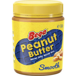 Photo of Bega Peanut Butter Smooth 500gm