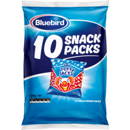 Photo of Bluebird Multipack Poppa Jacks 10 Pack