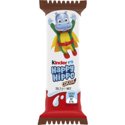 Photo of Kinder Happy Hippo Cocoa Biscuit Single Pack 20.7g