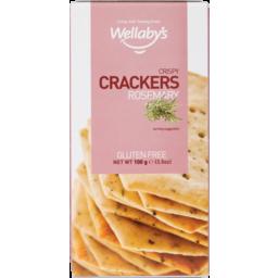 Photo of Wellaby's Crackers Gluten Free Rosemary 100g