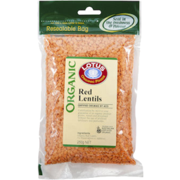 Photo of Lotus - Red Lentils - 250g