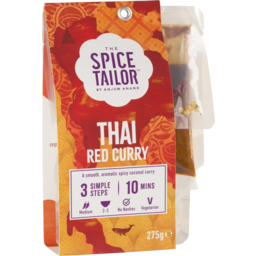 Photo of The Spice Tailor Thai Red Curry 275g