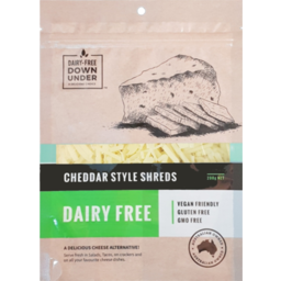 Photo of Dairy-Free Down Under Cheddar Style Shreds (Dairy Free)