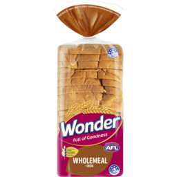 Photo of Wonder White Wonder High Fibre & Iron Wholemeal Sliced Bread Sandwich 700g