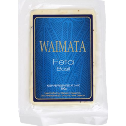 Photo of Waimata Feta Basil & Garlc 190g
