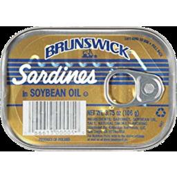 Photo of Brunswick Sardines Soya Oil Poland