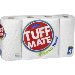 Photo of Handee Tuff Mate White Paper Towels 4pk