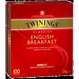 Photo of Twinings Specialty Teas Tea Bags English Breakfast 100pk