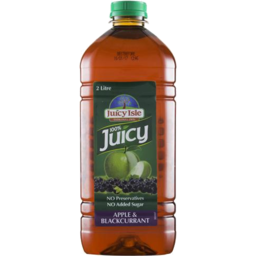 Photo of Juicy Isle 100% Juice  Apple Blackcurrant 2 Litre