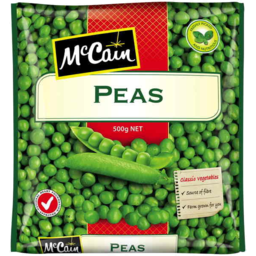 Photo of Mccain Peas 500gm