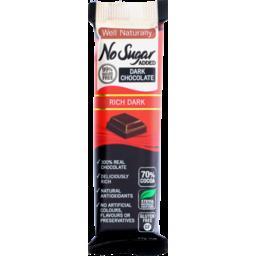 Photo of Well Naturally Nsa Dark Chocolate Rich Dark 45g