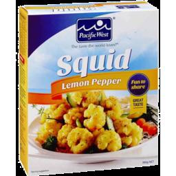 Photo of Pacific West Squid Lemon Pepper 360gm