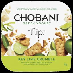 Photo of Chobani Flip Key Lime Crumble Greek Yogurt 140g