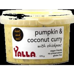 Photo of Yalla Pumpkin & Coconut Curry 570g
