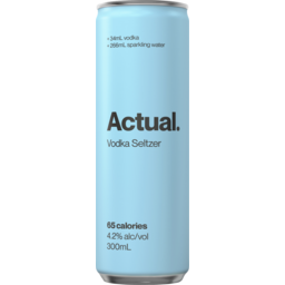 Photo of Actual Vodka Seltzer Can