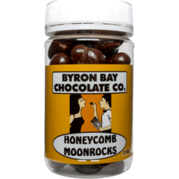 Photo of Byron Bay Chocolate Co Honeycomb Moonrocks