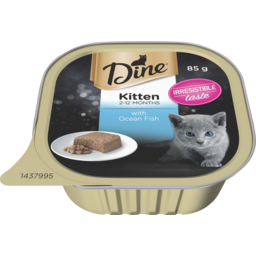 Photo of Dine Kitten With Steamed Ocean Fish 85g
