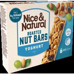 Photo of Nice&Natural Roasted Nut Bars Yoghurt 6pk 192g 192g