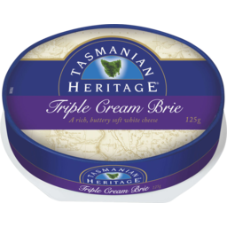 Photo of Tasmanian Heritage Triple Cream Brie 125gm