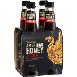 Photo of Wild Turkey American Honey & Cola Bottles