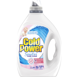 Photo of Cold Power Sensitive Pure Clean, Washing Liquid Laundry Detergent, 2 Litres