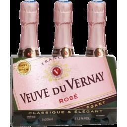 Photo of Veuve Du Vernay Rose 3 Pack