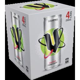 Photo of V Energy Drink Sugar Free 4pk