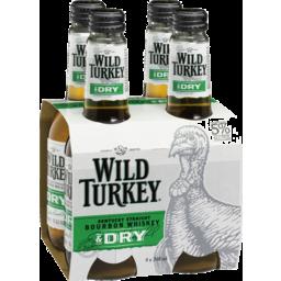 Photo of Wild Turkey Bourbon & Dry Bottles