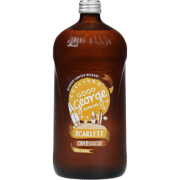 Photo of Good George Brewing Scarlett O'Hara Peach Squealer Cider 946ml