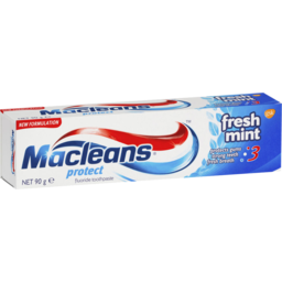 Photo of Macleans Protect Toothpaste Fresh Mint 90g 90g