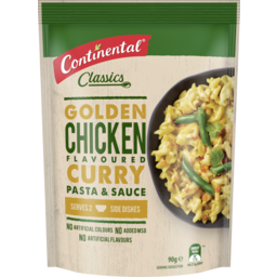 Photo of Continental Chicken Curry Pasta & Sauce 90g