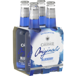 Photo of Vodka Cruiser Blueberry Stubbies