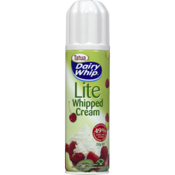 Photo of Dairy Whip Lite Whipped Cream 250gm